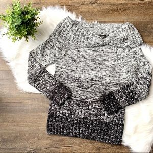 WHBM ombré sweater